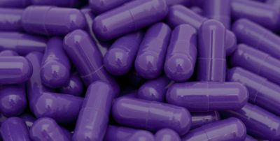 purple pills