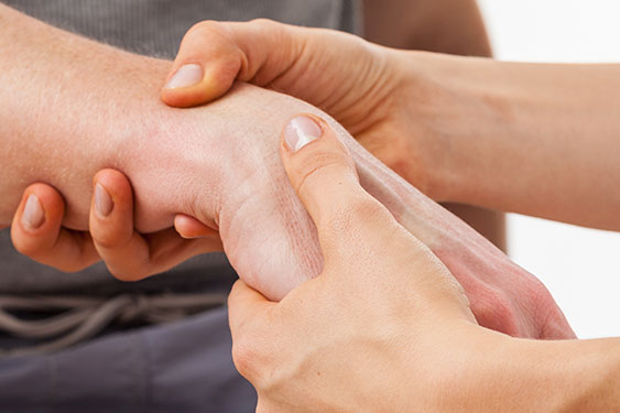 physical therapy wrist pain relief